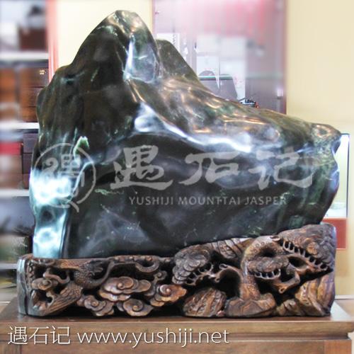 原石最大最重的百财 泰山玉 泰山玉石 玉石